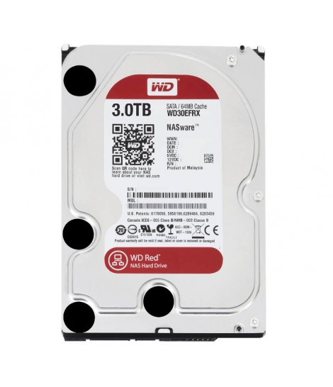 WD NAS Red 3TB SATA3