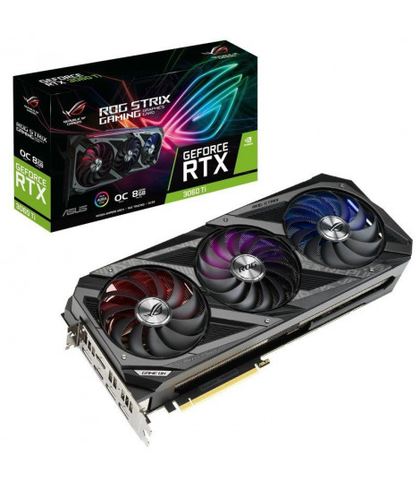 Asus ROG STRIX GeForce RTX 3060 Ti OC Gaming 8GB GDDR6